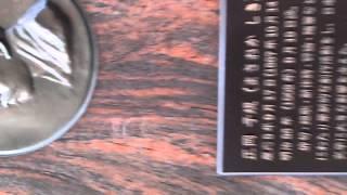 正岡子規の句碑ー鎌倉安国論寺の境内に建つ俳句碑.