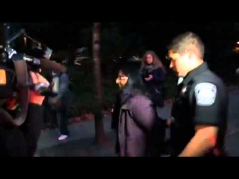 Seattle councilmember Kshama Sawant arrested part 1