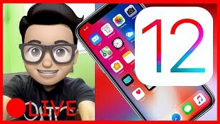 MEMOJI & MORE! - iOS 12 LIVE First Look & Reactions! [Recorded Stream]