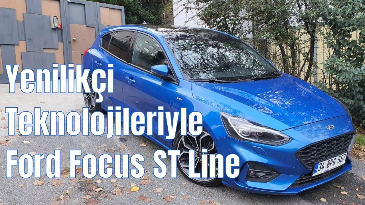 Sürüşü kolaylaştıran teknolojileriyle Ford Focus ST Line inceleme