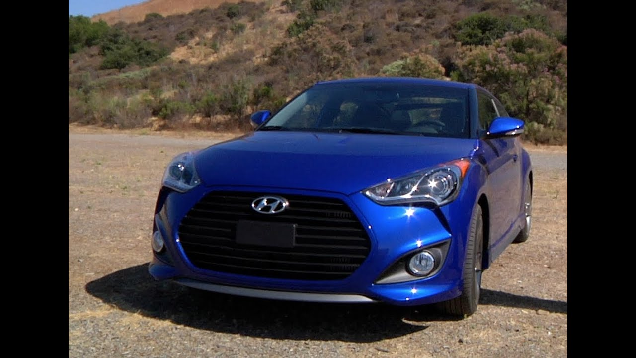 2013 Hyundai Veloster Turbo Review   CAR And DRIVER   YouTube