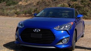 2013 Hyundai Veloster Turbo Review CAR and DRIVER