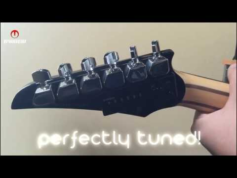 How to tune a guitar in seconds. Tronical Tune PLUS