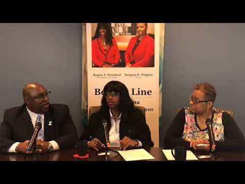The Bottom Line interviewing Kone' Bowman for Michigan Representative District 29