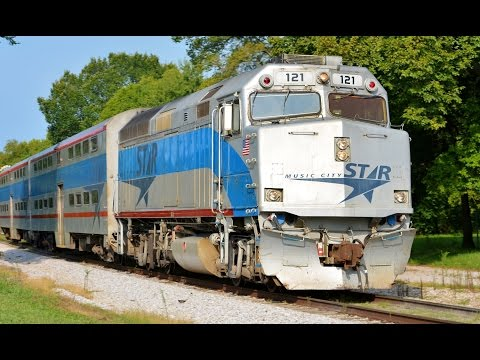 Music City Star Nashville, TN Commuter Train