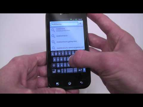 LG Optimus Sol overview
