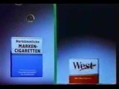 Zigarettenwerbung Fernsehen