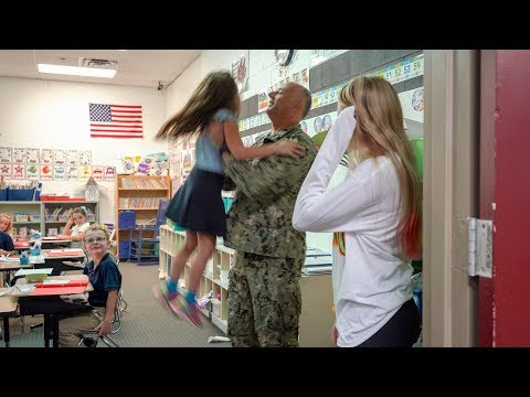Lt. Commander Hanna's Surprise at Holly Academy
