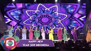 OUW..OUW!! 14 Pantura Angles Bikin Basah Basah Malam ini | HAPPY NEW YEAR 2019
