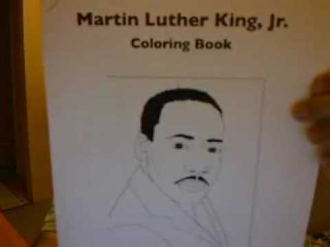 Martin Luther King, Jr. Day Coloring Book