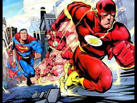 Сериал Флэш против Супермена. КТО БЫСТРЕЕ СУПЕРМЕН ИЛИ ФЛЭШ?!