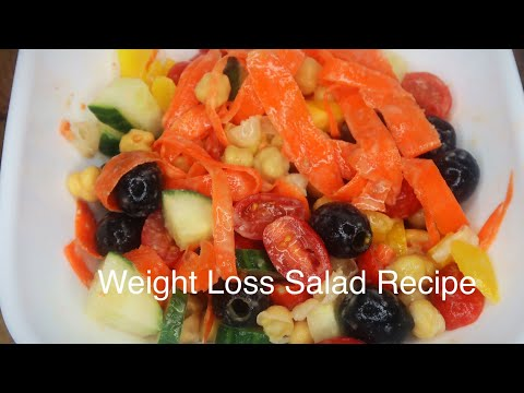 Weight Loss Salad Recipe For Dinner : How To Lose Weight Fast With Salad | New Challenge