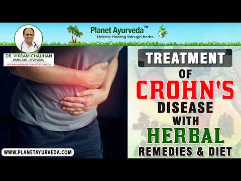 Treatment of Crohn's Disease with Herbal Remedies and Diet