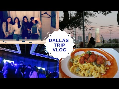 DALLAS TRIP VLOG: Police Encounters, Raving, and Journalism Convention!