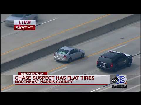 POLICE CHASE: Woman in Volvo repeatedly escapes police blockades