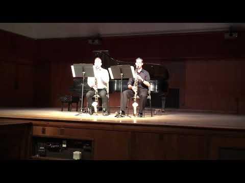 Pyroclastic Flow (Bass clarinet duet)