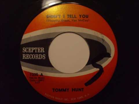 Tommy Hunt..   Didn't i tell you.  1962.