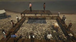 NPC Fights Bear Trap 1 Red Dead Redemption 2 PC Mods