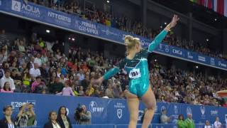 Maria PASEKA (RUS) – 2017 European Championships, qualifications Vault