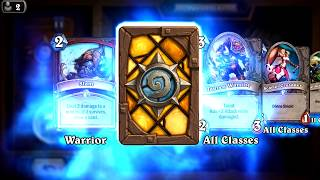 Bite - Classic Hearthstone rare card pack opening