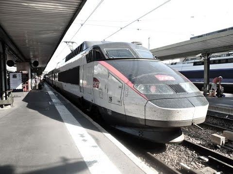 TGV Lyria train ride: Geneva to Paris Gare de Lyon