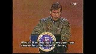 Rune Andersen parodierer George W  Bush