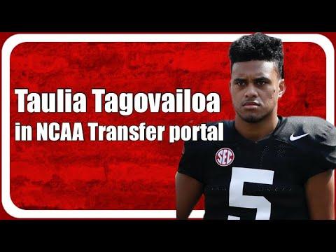 Tide quarterback Taulia Tagovailoa enters NCAA Transfer Portal