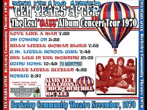 Ten Years After- Berkeley Community Theater, Ca 11/21/70