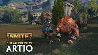 SMITE - Sneak Preview - Artio, The Bear Goddess