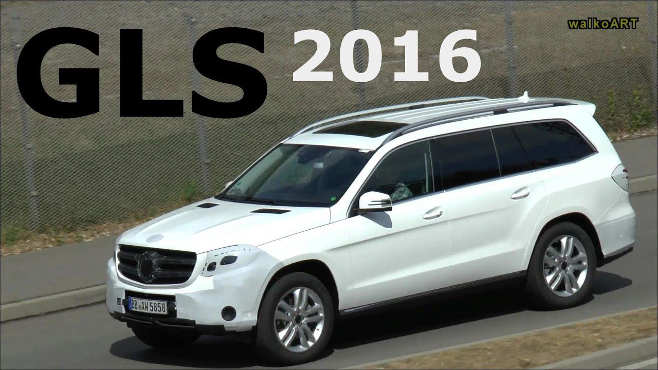 Mercedes benz gls erlk nig 2016 in wei facelift mercedes for Mercedes benz gls 2016