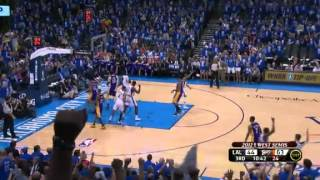 LA Lakers vs OKC Thunder Game 1 NBA Playoffs 2012 (Full-game Highlights!)