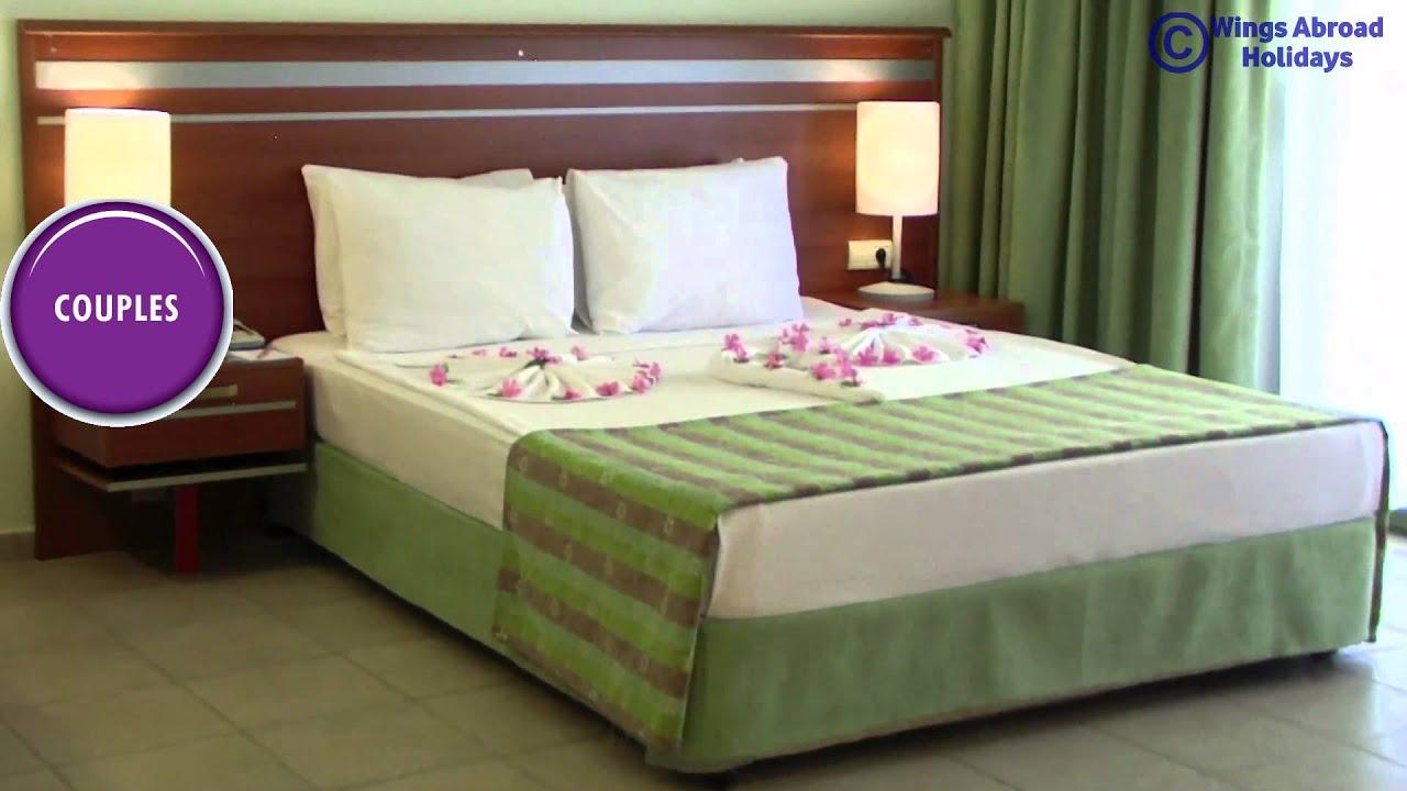 Altinkum - Palm Wings Beach Resort & Spa - YouTube