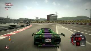 Project Gotham Racing 4 (PGR4): Lamborghini Murcielago R-GT car (Gameplay)
