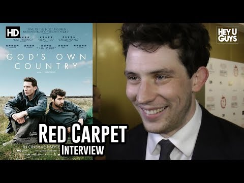 Josh O'Connor - God's Own Country - Critics Circle Awards 2018 Red Carpet Interview