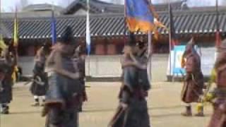 Jang Yong Yeong Guard Ceremony of old korea