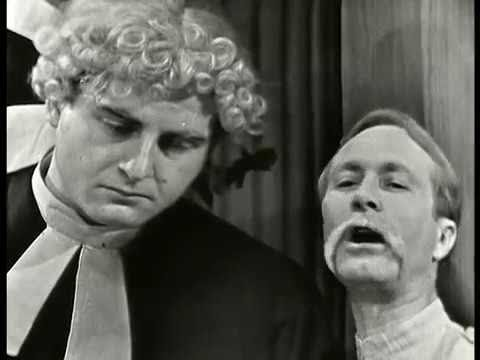 SID CAESAR: The English Courtroom [Part 2/2] (CAESAR'S HOUR, Mar 26, 1956)