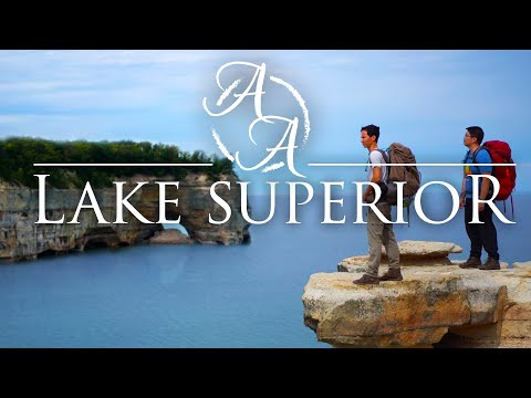 Hiking 42 Miles along Michigan's Lake Superior | Pictured Rocks Lakeshore in 4K