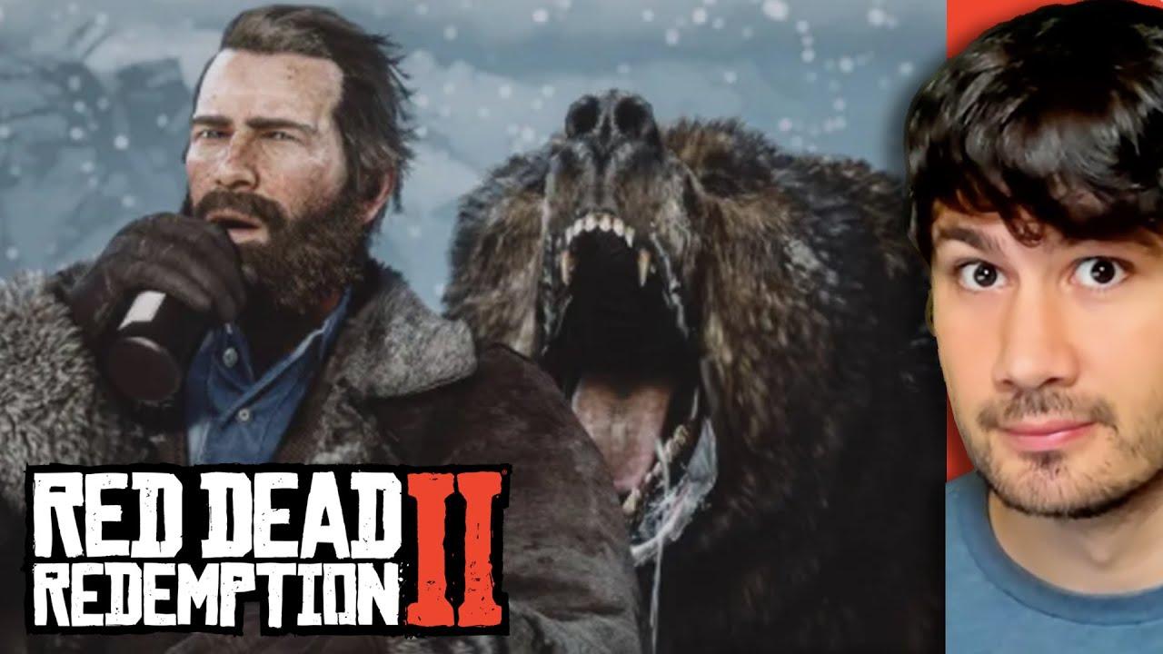 O Urso Me Pegou No Red Dead Redemption 2