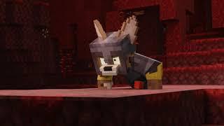 Незеритовая броня короткая анимация