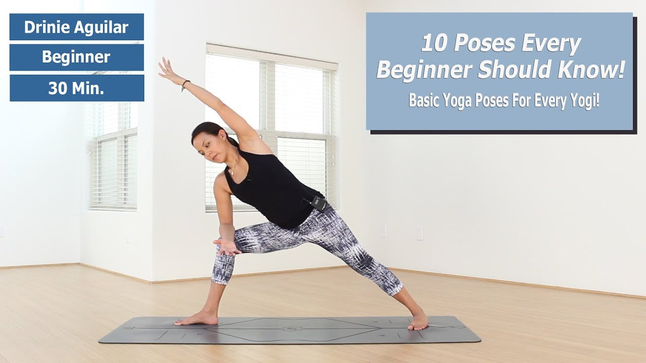 Beginner Yoga 10 Basic Poses Every Beginner Should Know Youtube