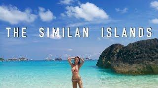 The Similan Islands-Thailand|เที่ยวหมู่เกาะสิมิลัน|