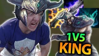 I AM THE 1V5 KING! TRYNDAMERE IS INSANE! FULL CRIT TRYNDAMERE TOP SEASON 7 - League of Legends