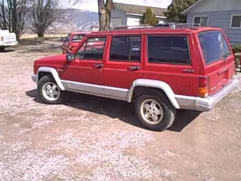 1987 jeep cherokee 4×4 for sale auto .AVI