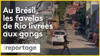 Coronavirus au Brésil : Les favelas de Rio abandonnées aux gangs