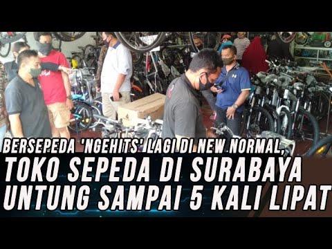 Toko Sepeda di Surabaya Untung Sampai 5 Kali Lipat di