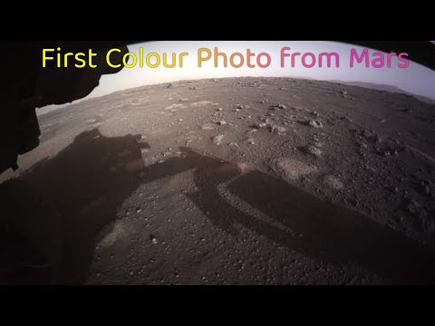 NASA's Mars 2020 Perseverance Rover Landing & Sent Images of its first Color.