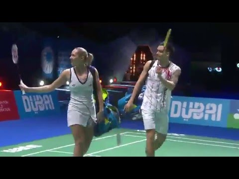 Dubai World Superseries Finals 2015 | Badminton F M2-XD | Adc/Adc vs Ko/Kim
