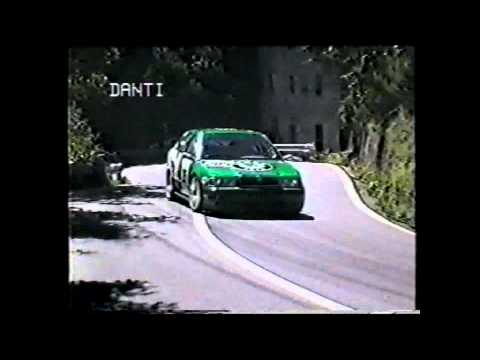 Fabio Danti Lima-Abetone 1997 su Skoda Octavia Supersalita