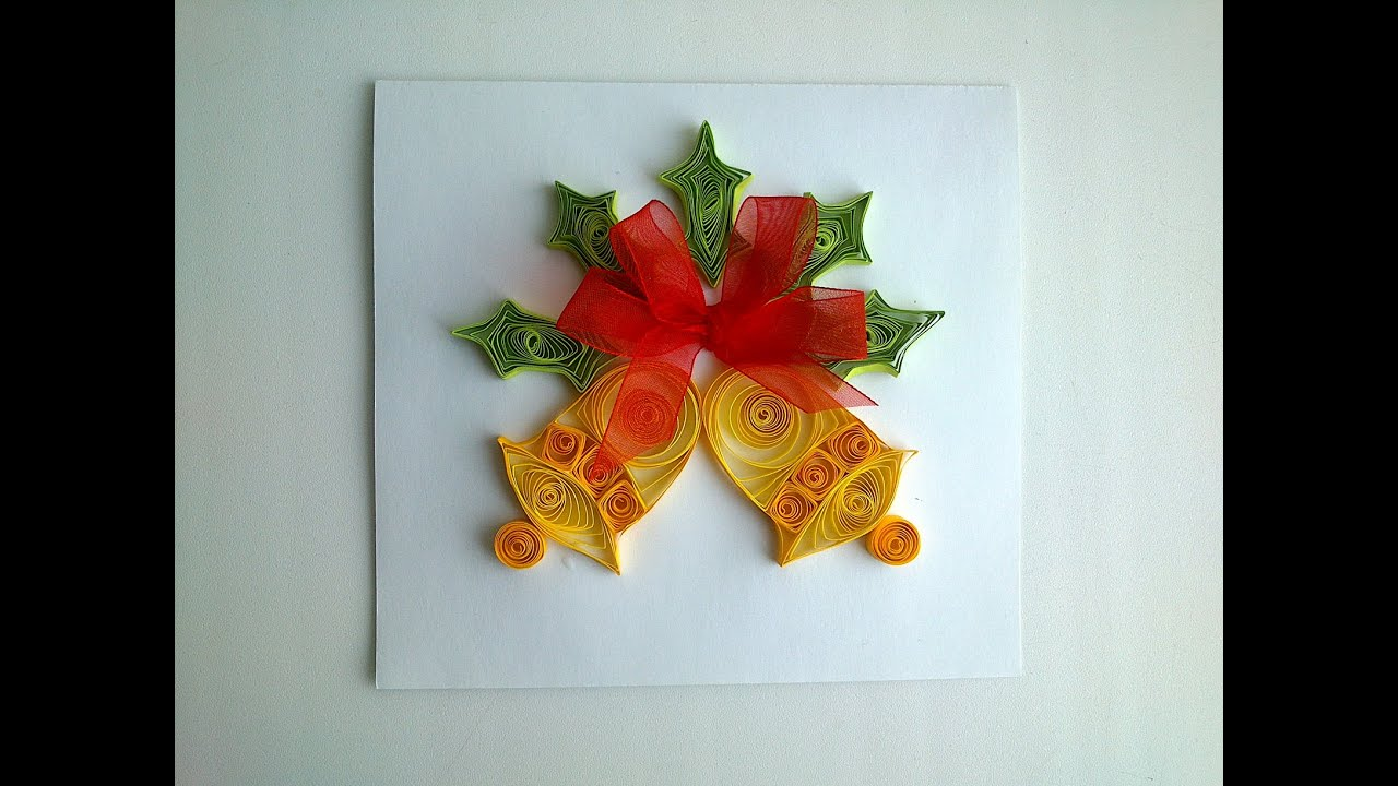 Diy christmas decorations make quilling diy christmas for Christmas decoration ideas to make