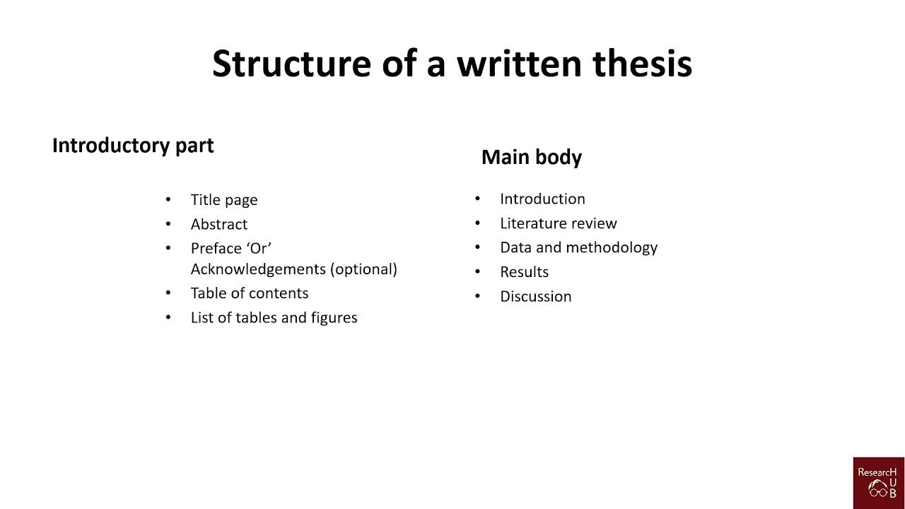 How Do I Write A Thesis Statement For An Essay  Essay On Healthy Eating Habits also University English Essay Standard Structure Of A Thesis  Dissertation  Journal Article Science Fiction Essay